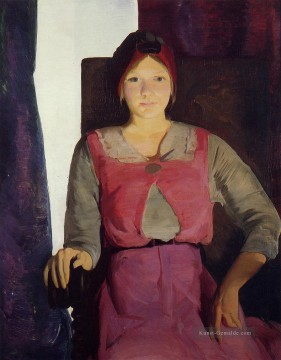 Garaldine Lee No 2 Realist Ashcan Schule George Wesley Bellows Ölgemälde