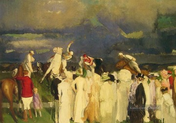 Polo Crowd Realist Ashcan Schule George Wesley Bellows Ölgemälde