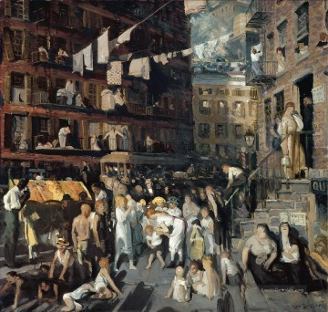 Cliff Dwellers 1913 George Wesley Bellows Ölgemälde