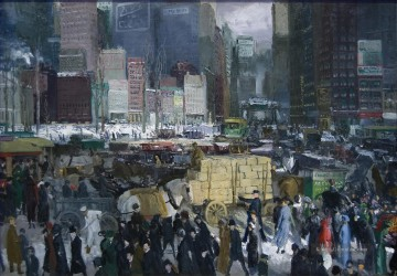 New York George Wesley Bellows Ölgemälde