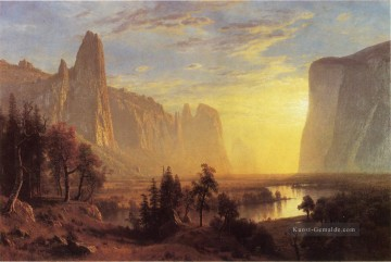 Yosemite Valley Yellowstone Park Albert Bier Ölgemälde