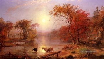 Summer Künstler - Indian Sommer Hudson Fluss Albert Bierstadt