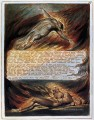 Der Abstieg Christi Romantik romantischen Alter William Blake