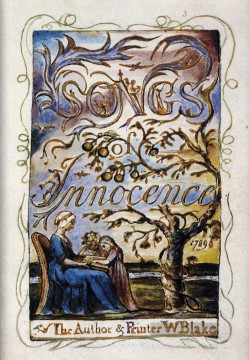 romantische romantik Ölbilder verkaufen - Songs of Innocence Romantik romantische Alter William Blake