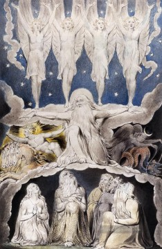 William Blake Werke - Hiobbuch Romantik romantische Alter William Blake
