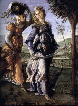 The Return Of Judith To Bethulia Sandro Botticelli