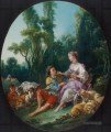 Are They Thinking About the Grape Rokoko Francois Boucher
