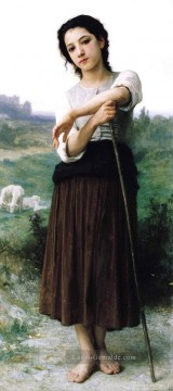 Berg Malerei - Bergere Realismus William Adolphe Bouguereau
