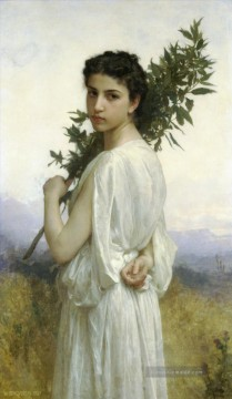 William Adolphe Bouguereau Werke - Branche de laurier Realismus William Adolphe Bouguereau