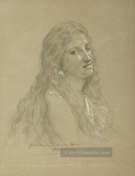 William Adolphe Bouguereau Werke - Drawing of a Woman Realismus William Adolphe Bouguereau
