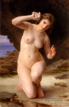Femme Künstler - FemmeAuCoquillage 1885 William Adolphe Bouguereau