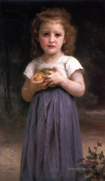 William Adolphe Bouguereau Werke - Jeune Fille et Enfant Realismus William Adolphe Bouguereau