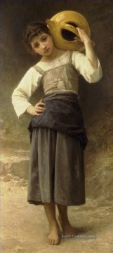 William Adolphe Bouguereau Werke - Jeune fille allant a la fontaine Realismus William Adolphe Bouguereau