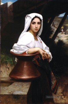 William Adolphe Bouguereau Werke - Jeune italienne puisant de leau Realismus William Adolphe Bouguereau
