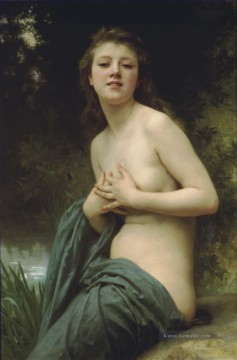 William Adolphe Bouguereau Werke - La brie du printemps Realismus William Adolphe Bouguereau