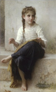 William Adolphe Bouguereau Werke - La couturiere Realismus William Adolphe Bouguereau