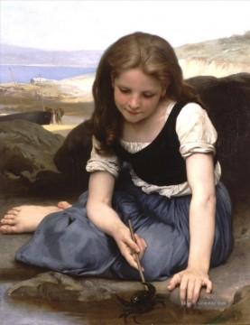 William Adolphe Bouguereau Werke - Le Crab Realismus William Adolphe Bouguereau
