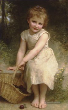 William Adolphe Bouguereau Werke - Les prunes Realismus William Adolphe Bouguereau