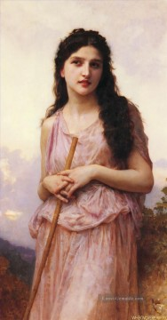 William Adolphe Bouguereau Werke - Meditation Realismus William Adolphe Bouguereau