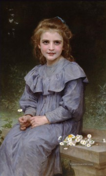 William Adolphe Bouguereau Werke - Paquerettes Realismus William Adolphe Bouguereau