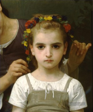 William Adolphe Bouguereau Werke - Parure des champs right Realismus William Adolphe Bouguereau