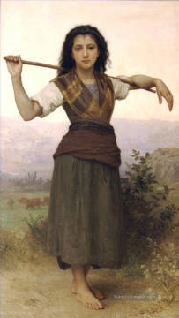 William Adolphe Bouguereau Werke - Pastourelle Realismus William Adolphe Bouguereau