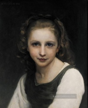 William Adolphe Bouguereau Werke - Porträt of a Young Girl Realismus William Adolphe Bouguereau