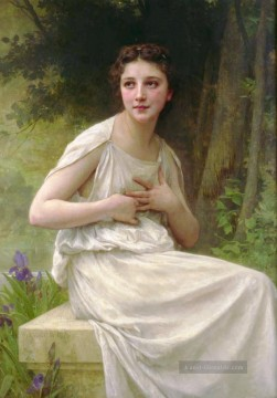 William Adolphe Bouguereau Werke - Reflexion Realismus William Adolphe Bouguereau