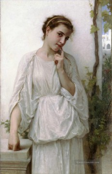 William Adolphe Bouguereau Werke - Reverie Realismus William Adolphe Bouguereau