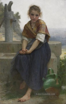 William Adolphe Bouguereau Werke - The Broken Pitcher Realismus William Adolphe Bouguereau