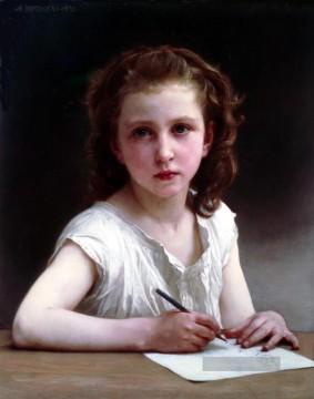 William Adolphe Bouguereau Werke - Une Vocation Realismus William Adolphe Bouguereau