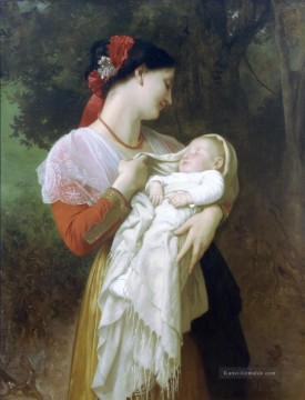 Admiration Maternelle Realismus William Adolphe Bouguereau