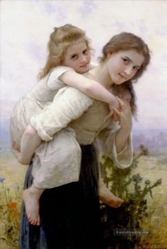 William Adolphe Bouguereau Werke - Fardeau agreable Realismus William Adolphe Bouguereau