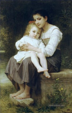 William Adolphe Bouguereau Werke - La soeur ainee Realismus William Adolphe Bouguereau