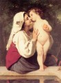 Le Baiser 1863 Realismus William Adolphe Bouguereau