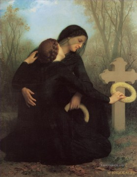 William Adolphe Bouguereau Werke - Le jour des morts Realismus William Adolphe Bouguereau