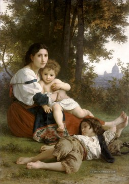 William Adolphe Bouguereau Werke - Le repos Realismus William Adolphe Bouguereau