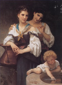 William Adolphe Bouguereau Werke - Le secret Realismus William Adolphe Bouguereau