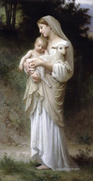William Adolphe Bouguereau Werke - Linnocence Realismus William Adolphe Bouguereau