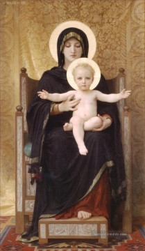 assise Kunst - Madone assise Realismus William Adolphe Bouguereau