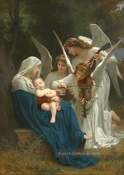 William Adolphe Bouguereau Werke - Song of the Angels Realismus angel William Adolphe Bouguereau