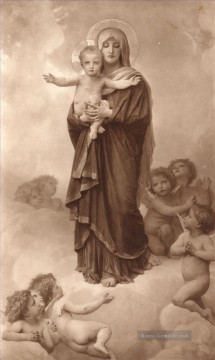 William Adolphe Bouguereau Werke - NotreDame Des Anges Realismus William Adolphe Bouguereau
