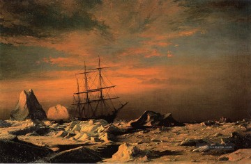 Welle Kunst - Ice Dwellers Watching the Invaders William Bradford