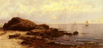 Bail Maler - Low Tide Baileys Insel Maine Strand Alfred Thompson Bricher