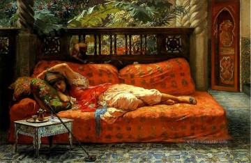 The Siesta Frederick Arthur Bridgman