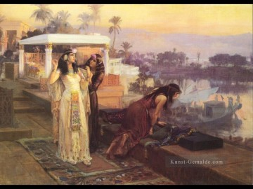 Cleopatra on the terraces of Philae 1896 Frederick Arthur Bridgman Ölgemälde