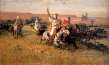 The Falcon Hunt Frederick Arthur Bridgman Ölgemälde