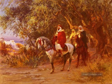 The Return Frederick Arthur Bridgman Ölgemälde