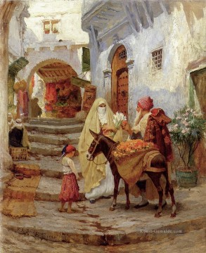 The Orange Seller Frederick Arthur Bridgman Ölgemälde