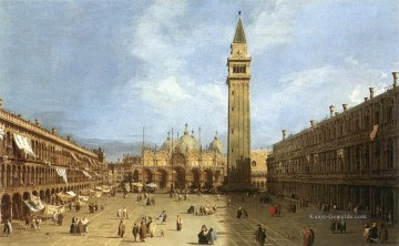 Piazza Kunst - Piazza San Marco 1730 Canaletto